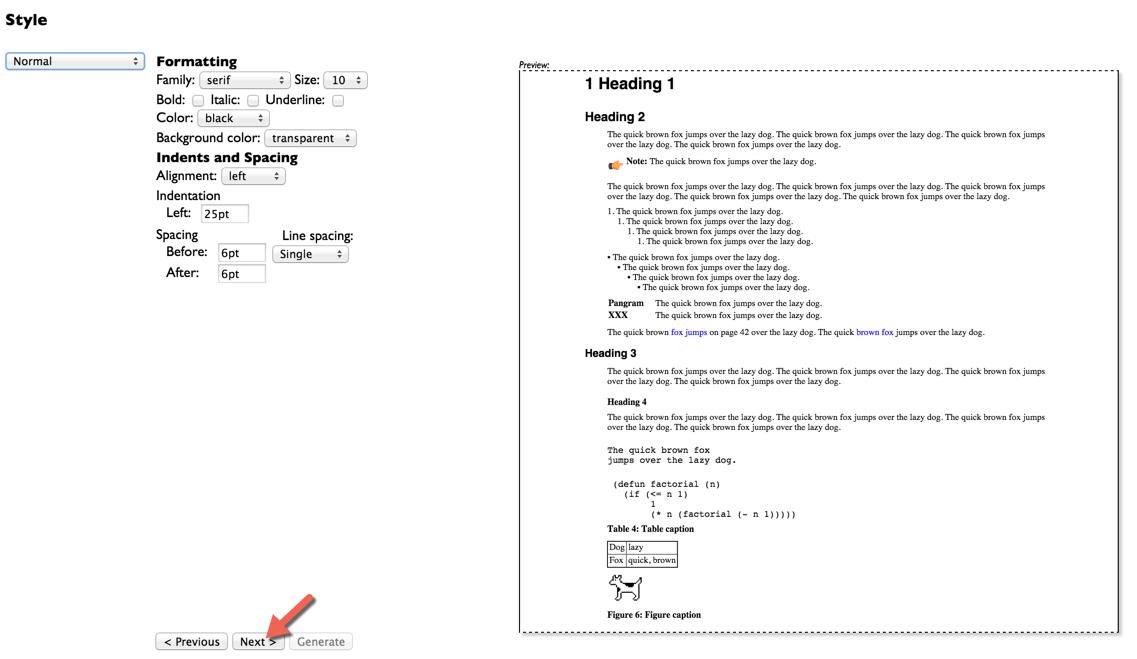 PDF plugin style attribute