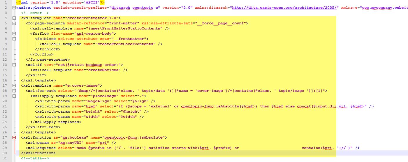 edit pdf plugin's cover