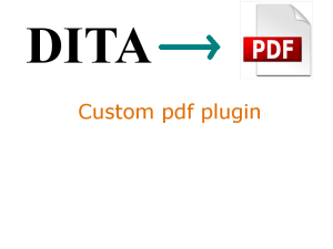 DITA: Jump start pdf plugin for customized pdf output