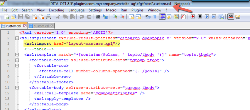 custom pdf plugin